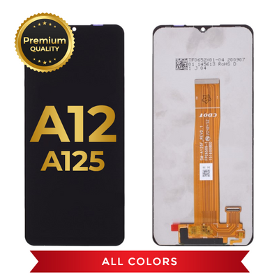 OLED Assembly Without Frame For Samsung Galaxy A12 (A125 / 2020)