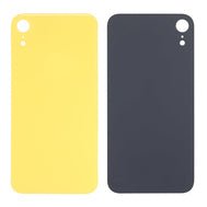 iPhone XR Replacement Back Glass with Wide Camera Lens Hole (Yellow) (4169027223616)