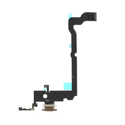 iPhone XS Max Charging Port Flex Cable (Gold) (4169044099136)