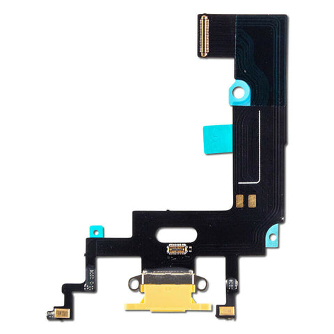 iPhone XR Charging Port Flex Cable (Yellow) (4169022537792)