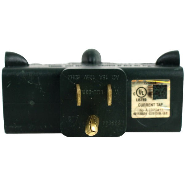 Axis 45092 3-Outlet Heavy-Duty Grounded Adapter