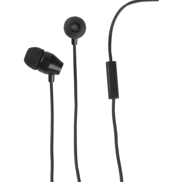 RCA HP159MICBKZ Stereo Earbuds with In-Line Microphone