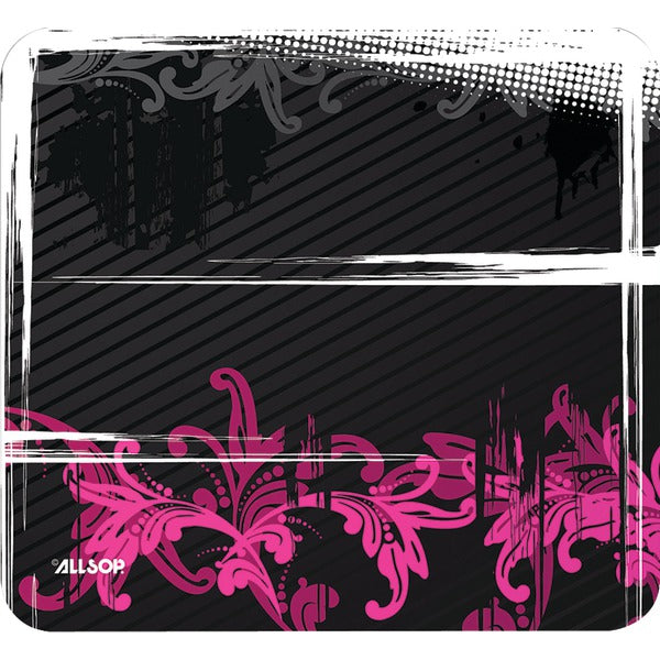 Allsop 30595 Mouse Pad (Floral Urban Pink)