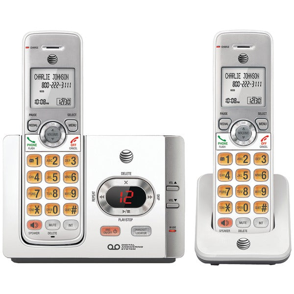 AT&T EL52215 DECT 6.0 Cordless Answering System with Caller ID-Call Waiting (2 Handsets)