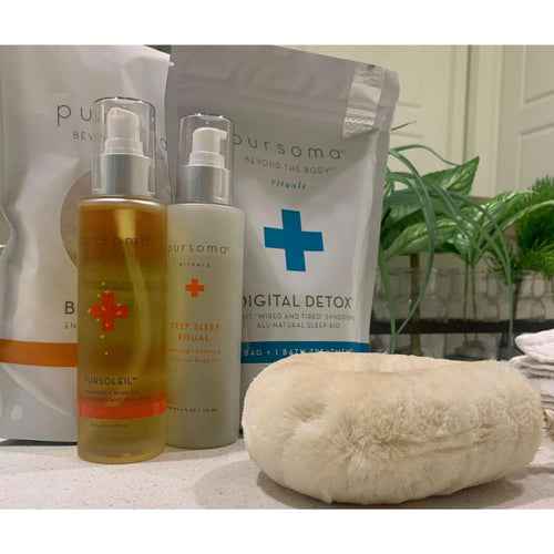 dalilahmuhammad: #Selfcare is the Best Care, Loving my Pursoma Kit