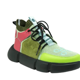BLOCK SHOE MILITARY MULTICOLOR