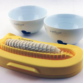 BergHOFF Banana Cutter Set With Pair of Lover by Lover Cereal Bowl