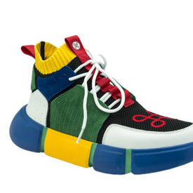 BLOCK SHOE MULTICOLOR