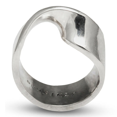Classic with a Twist Silver Ring