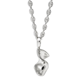 Classic with a Twist Silver Pendante