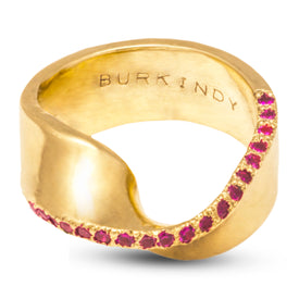 Classic with a Twist Gold Ring