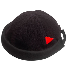 Black Heavy Knit CrewCap [OG]