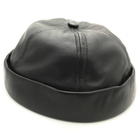 Black Leather CrewCap [OG]