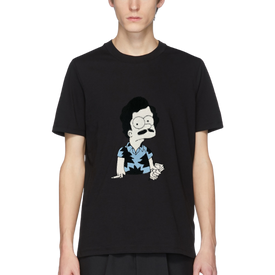 ESCOBART EMBROIDERED PATCH TEE