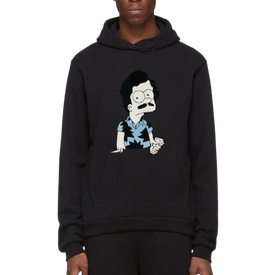 ESCOBART EMBROIDERED PATCH HOODIE