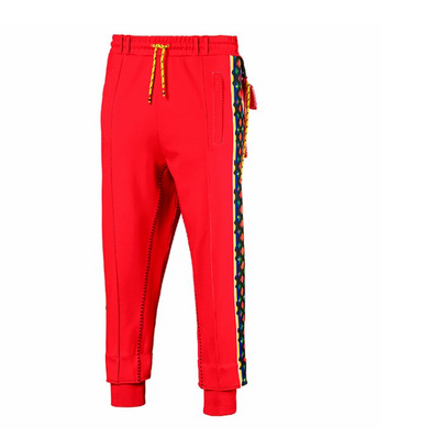 PUMA x JAHNKOY Men's Pants RED