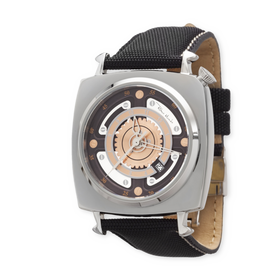 Chaos Automatic SS Black Rose Gold
