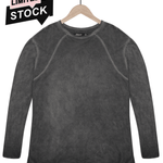 Beckham bamboo t-shirt in graphite grey