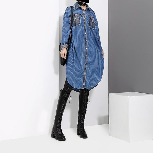 Marigold Shadows dresses Britnee Denim Shirt Dress