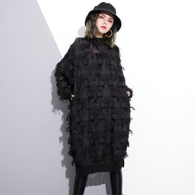 Yuko Loose Long Sleeve Dress