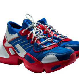 WAVE TRAINER METALLIC RED AND BLUE