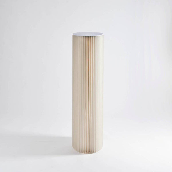 Pillar Display Table - White - Paper Lounge