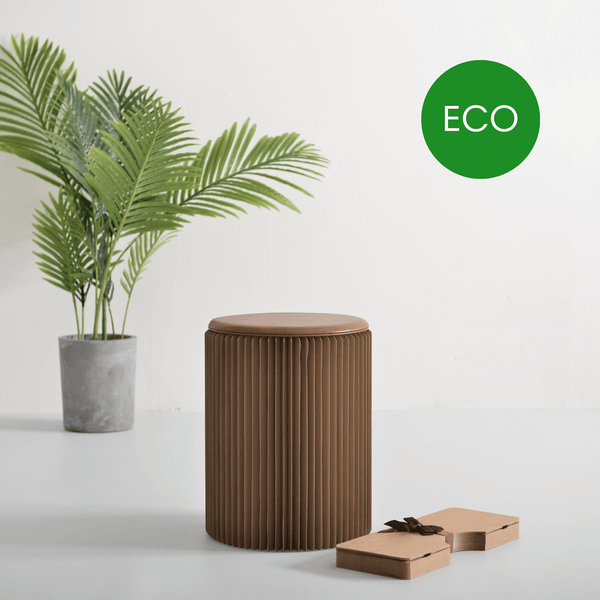 Concertina Paper Stool - Recycled - Paper Lounge