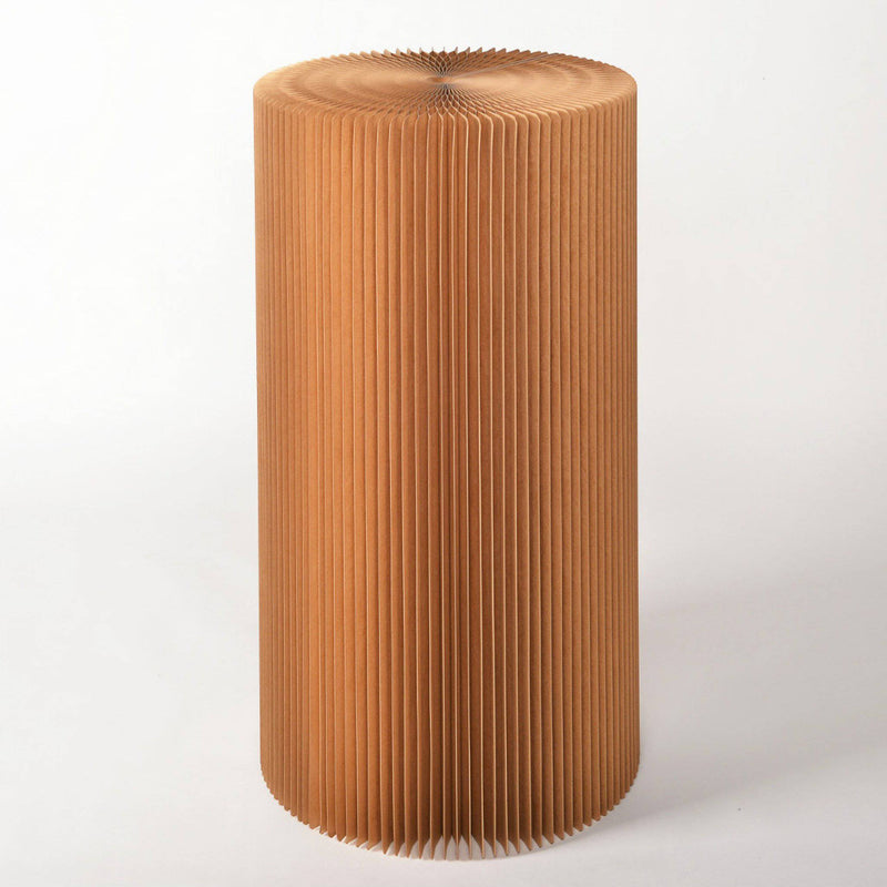 Pillar Display Table - Brown - Paper Lounge
