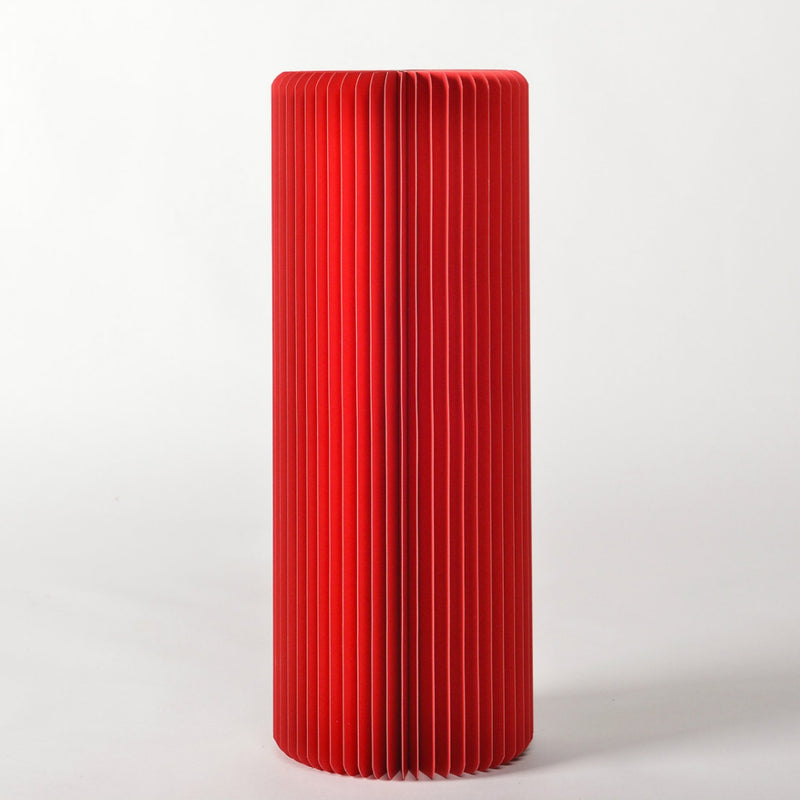 Pillar Display Table - Red - Paper Lounge