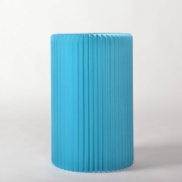 Pillar Display Table - Blue - Paper Lounge
