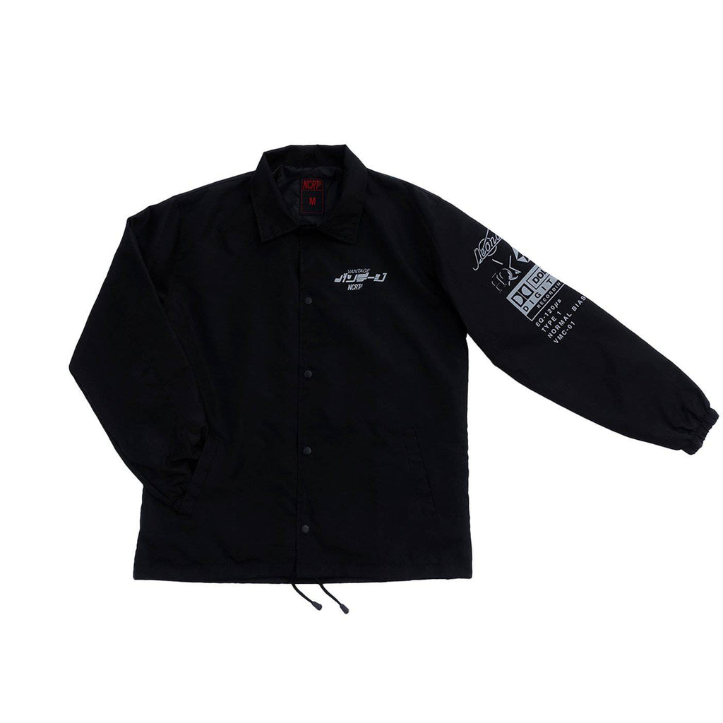 Vantage 'Metro City' 3M Reflective Coach Jacket - NCRT