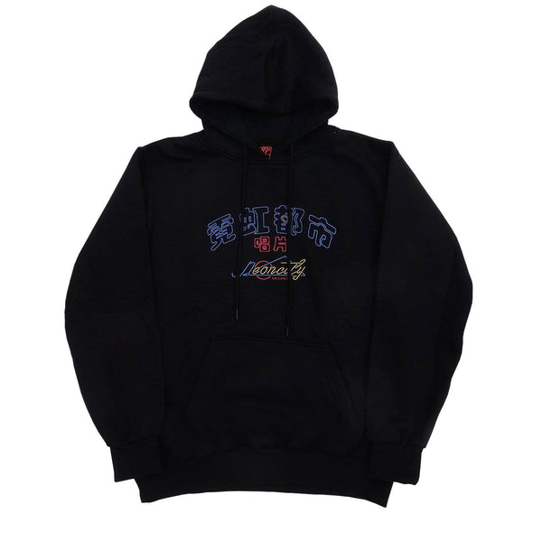 Neoncity Records Embroidered Hoodie - NCRT