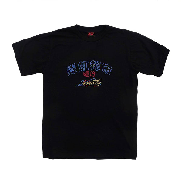 Neoncity Records Embroidered T-Shirt - NCRT