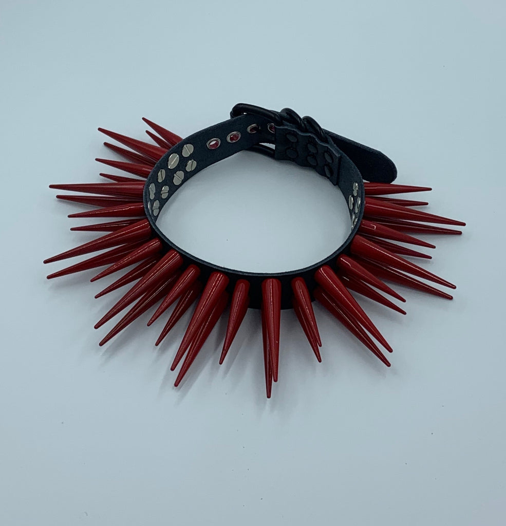 RED Hellraiser Collar
