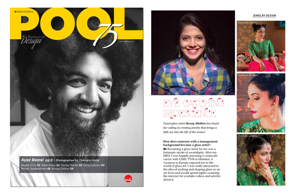Ikroop  Dhillon Pool magazine