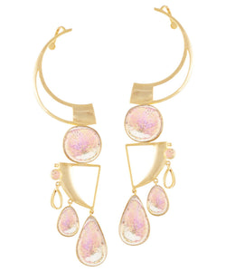 Set - Galaxy Earrings & Ion Teeka