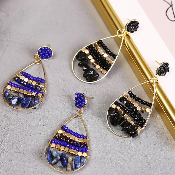 Brooklyn Beaded Earrings