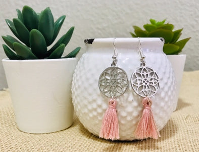 Pinky Zen Earrings