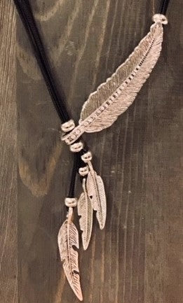 Cheyenne Feather Necklace