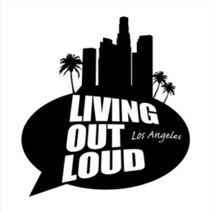 """Living Out Loud Los Angeles"" Logo"