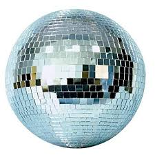 "ac/lighting-MB20 20"" Glass mirror ball"