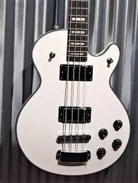 base-SWEB-WHT White Gloss Swede Bass - 2 x Custom 58'B Mahogany  swede bass: BASE