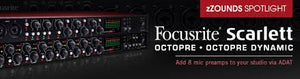 ac/audio interface-SCARLETT OCTOPRE DYNAMIC-SCARLETT-OCTOPRE-DYNA INTERFACE