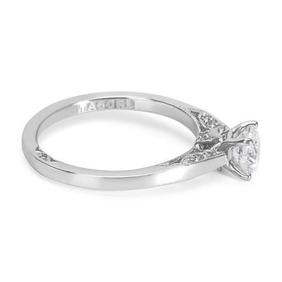 BRAND NEW Tacori Engagement Ring Setting in 18K Gold 3002 3000 RD 5.5 (0.09 CTW)