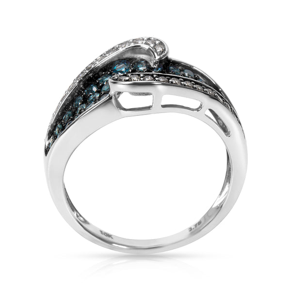 BRAND NEW Diamond Fashion Ring in 10K White Gold with Diamonds