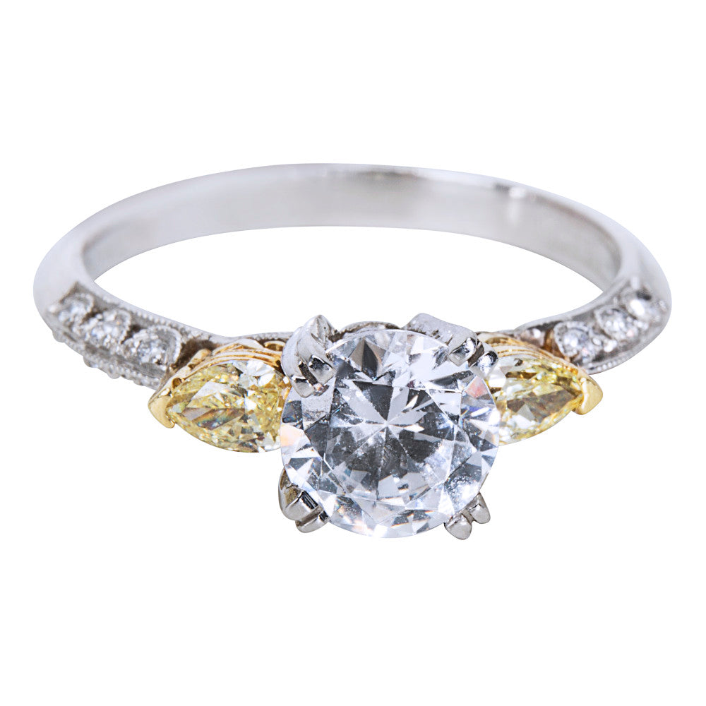 BRAND NEW Tacori Diamond Engagement Ring Setting in Platinum/18k Gold (0.40 ctw)