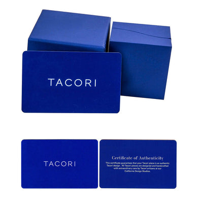 Tacori Diamond & Sapphire Engagement Ring Setting in Platinum (1/3 CTW)