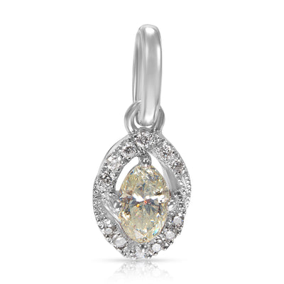 Marquise Diamond Pendant in   KL I2 0.55 CTW