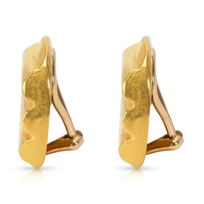 Denise Roberge Earrings in 22K Yellow Gold