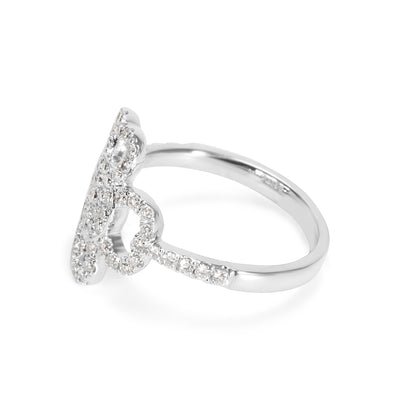 BRAND NEW Diamond Ring in 18K White Gold (0.6 CTW)